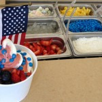 Fourth of July Froyo
